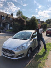 David passed with Furkan after driving lessons in Crawley