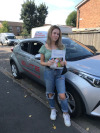 Jade passed with Ian after driving lessons in Horley
