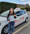 Maja passed at Chertsey after taking driving lessons with Kim