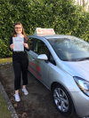 Libby passed her test at Crawley after taking lessons from driving lessons with instructor Lee