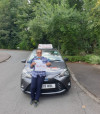 Passed after automatic driving lessons Crawley