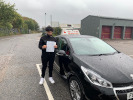Yaseen took driving lessons in Wallington with Matt