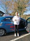 Samantha passed with Pierluigi in Redhill