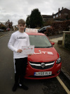 Dan passed after lessons with Paul in Reigate