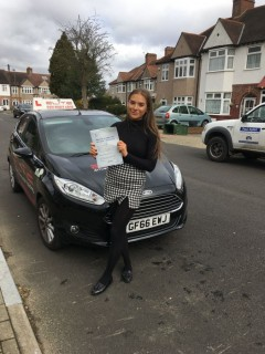 Well done to Graham's pupil Kirsten for a great #drivingtest #pass at #WestWickham! #Croydon #driving