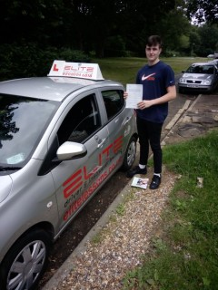 Huge congratulations to Paul's pupil Jack who passed his #drivingtest at #Redhill just 10 weeks after his 17th birthday with just 20 hours of #drivinglessons!