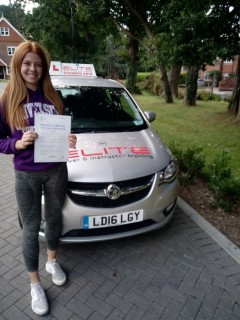 We love these moments! Our instructor Paul's daughter Amy has just passed her test at the very first attempt! (obviously after some rather exceptional tuition from her dad) #drivinglessons #eliteinstructors #likefatherlikedaughter