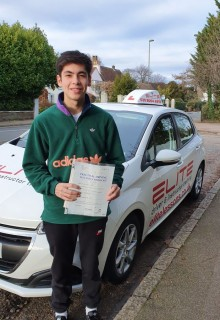 Kim's pupil Ed was our first pass of 2020, on 6th Jan! #Congratulations Ed and we hope you are loving your newfound #freedom #eliteinstructors #Weybridge