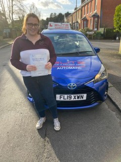 Fabulous #firsttime #drivingtest pass for Szymon's pupil Alicia with just 3 minor faults. #eliteinstructors #Crawley #Redhill