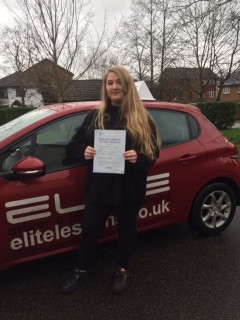Congratulations to Sue's pupil Jess who passed #firsttime at #Redhill with just 3 faults! #drivinglessons #eliteinstructors