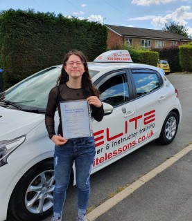A big #congratulations to Kim's pupil Maja for #passing her #drivingtest at #Chertsey with just 4 faults!