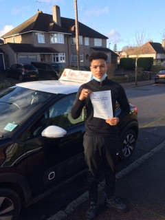 Huge #congratulations to Sue's pupil Taylor for a #firsttimepass at #WestWickham!