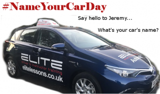 Happy #NameYourCarDay! #learntodrive #nationalnameyourcarday #croydondriving