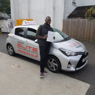 Another great #testpass for one of Mohsin's pupils today. This time at #CroydonTestCentre, and for pupil Robert. Well done from all at #ELITEDrivingSchool!