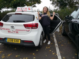 Another #drivingtest pass yesterday in #Redhill for Jenny's pupil Molly - #congratulations on #keepingyournerve #driving