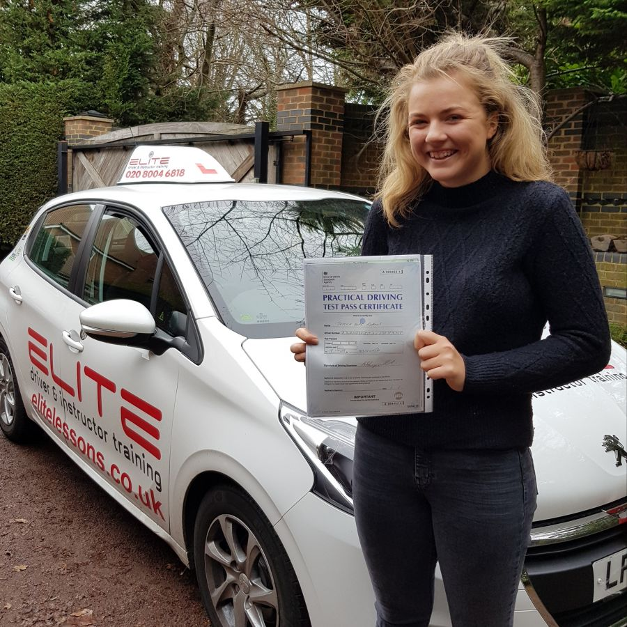 A big congratulations to Kim's pupil Jessica for a great drive and #firsttimepass at #Tolworth Test Centre! #drivinglessons #drivingtest #croydoninstructors