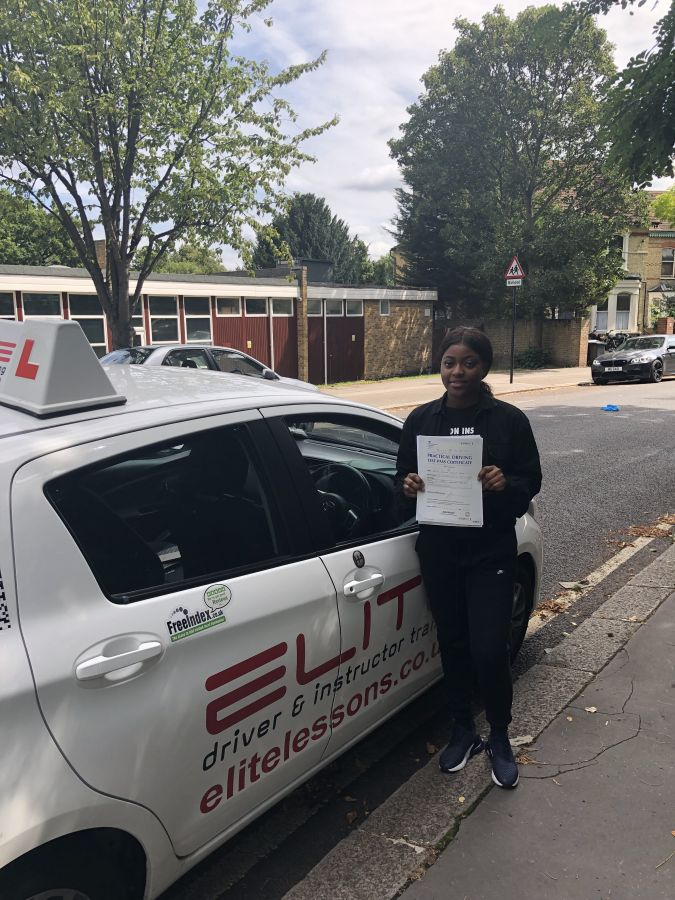 Huge well done to Garry's pupil Janice who passed her #drivingtest at #Croydon Test Centre! We are so proud of you - keep up with the safe driving! #eliteinstructors #croydondrivinglessons #croydon