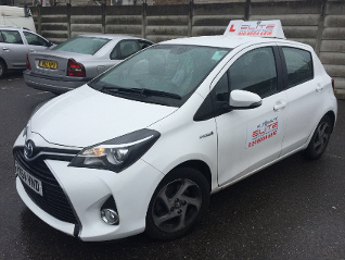 Andy kirby White Auto Yaris