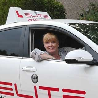 Jenny hutchinson driving instructor Tadworth Surrey