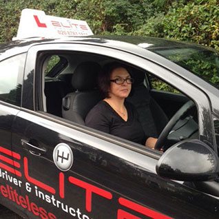 Karen weighall driving instructor Caterham Surrey