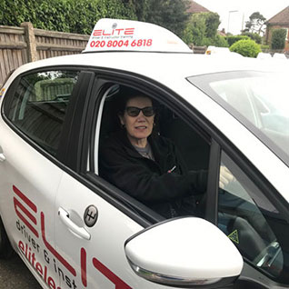 Kim hart driving instructor Weybridge
