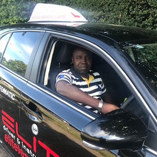 Garry Commey driving instructor Croydon