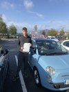 Adam passed in Farnborough after driving lesssons with Adrienne