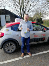 Ami passed at Redhill after taking lessons with Pierluigi