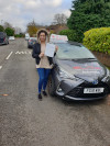 Zartashia passed with Mohsin