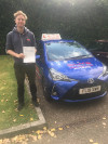 Craig passed after taking automatic lessons with Szymon in Crawley