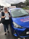 Oshimarie passed with Szymon after taking automatic lessons in Redhill