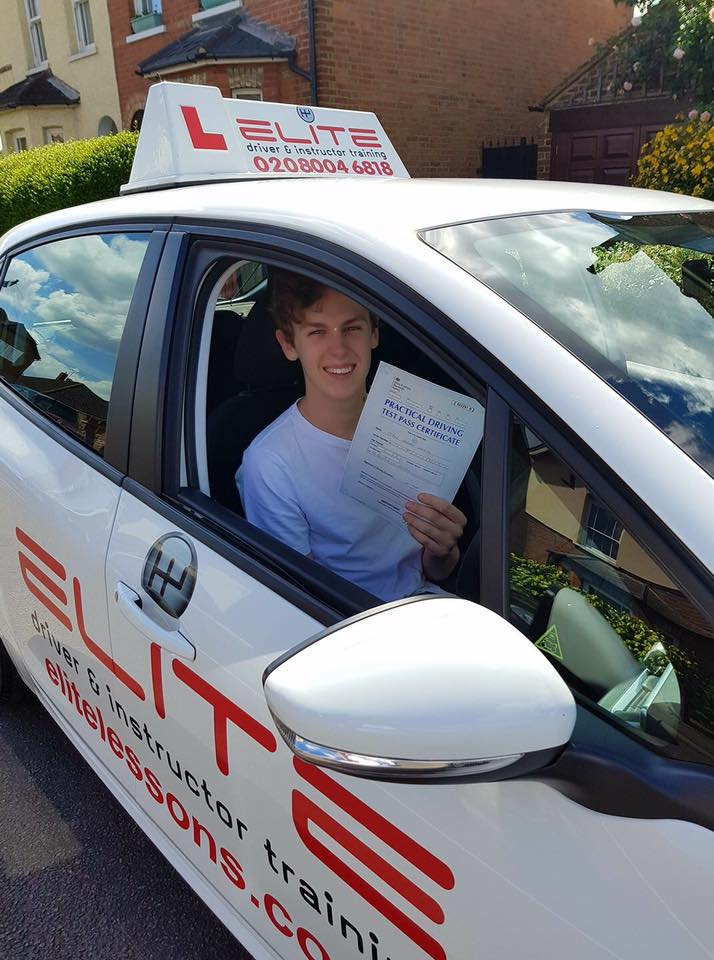 Jack took driving lessons with Kim in Chertsey