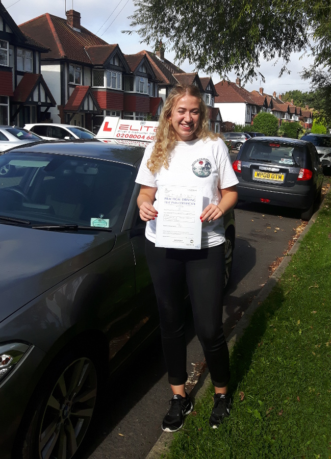 Charlotte passed with Karen