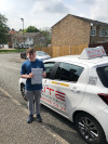 Conor passed after taking driving lessons in Croydon with Garry