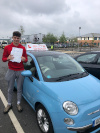 Joe passed after taking driving lessons with Adrienne in Camberley