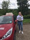 Morgan passed after taking driving lessons in Croydon with Sue