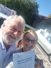 Agnieszka passed in Redhill after taking lesson with Andy