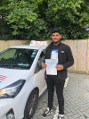 Cyrus passed with Garry in Croydon
