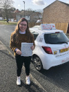 Keavy passed her test with Garry in West Wickham