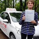 Gabriel passed after taking driving lessons with Kim