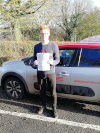 Greg passed in Redhill after driving lessons with Pierluigi