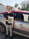 James passed after taking lessons with Pierluigi in Redhill