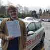 Daniel passed with Kim in Chertsey