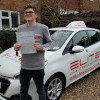 Jamie passed after lessons with Kim in Weybridge