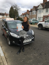 Kirsten passed after taking driving lessons with Graham in Croydon
