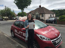 Lucy passed her test first time after taking driving lessons with Elite instructor Sue