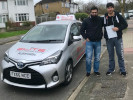 Max passes his automatic test at West Wickham