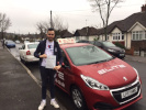 Matt passed in Croydon after taking lessons with Sue