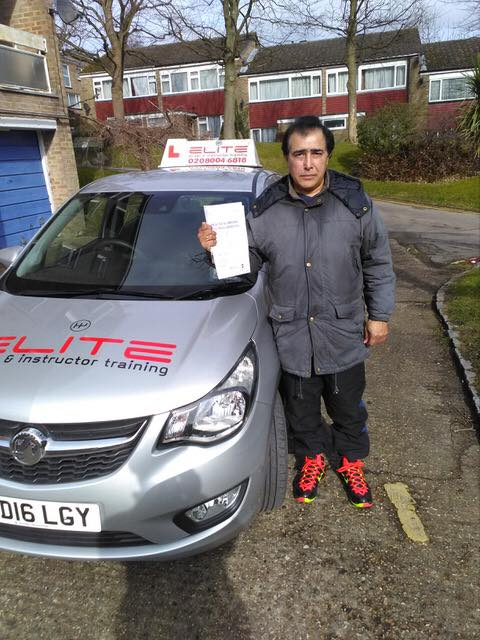 Nauman passed with Paul