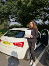 Imogen passed in Redhill after lessons with PG